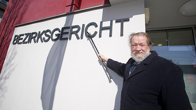 """Das Bezirksgericht Mattersburg erklärte sich in der Sache Eitel-Fischer für """"nicht zuständig"""". (Bild: Martin A. Jöchl)"""