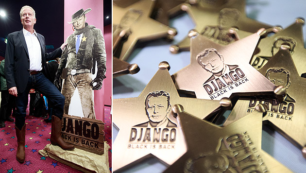 """Vizekanzler Reinhold Mitterlehner pflegt sein """"Django""""-Image. (Bild: APA/GEORG HOCHMUTH)"""