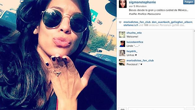 Stephanie Sigman (Bild: instagram.com/sigmanstephanie)