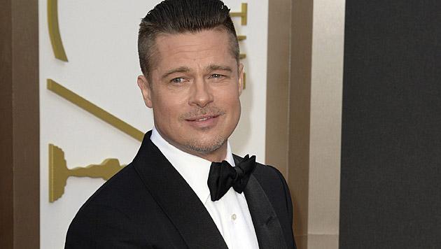 """Während seiner Ehe mit Jennifer Aniston sei sein Leben """"nicht interessant"""" gewesen, so Brad Pitt. (Bild: APA/EPA/MIKE NELSON)"""