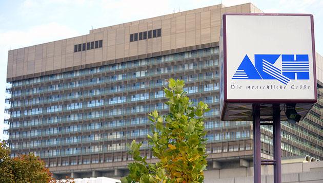 Duo stahl Krankenhausinventar aus Wiener AKH (Bild: APA/Roland Schlager)