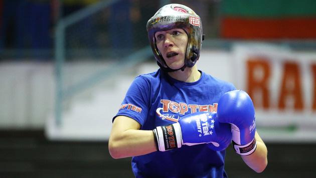 Kickboxerin Nicole Trimmel erleidet Kreuzbandriss (Bild: GEPA)