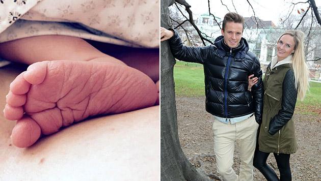 Patricia Kaiser und Ehemann Daniel Wolf sind zum zweiten Mal Eltern geworden. (Bild: facebook.com/Patricia-Kaiser, Kristian Bissuti)