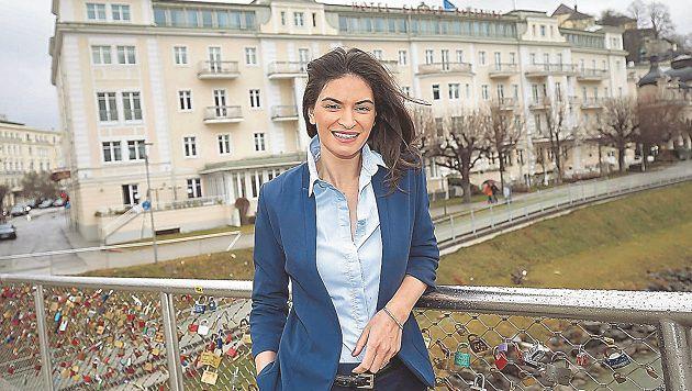Die neue Hotel Sacher-Direktorin Angélique Lassiwe punktet mit Charme & Esprit. (Bild: Markus Tschepp)