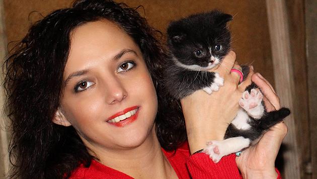 Nicole Holzinger aus Berndorf setzt sich mit Leib und Seele für Tiere ein. (Bild: Holzinger)