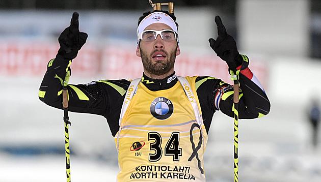 Martin Fourcade (Bild: AP)