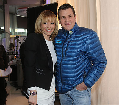 Francine Jordi und Marc Pircher (Bild: Chris Koller)