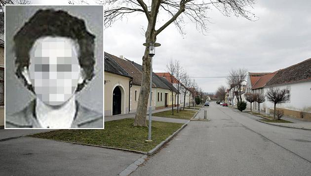 In dieser Gasse im Burgenland war die betagte Ungarin unterwegs. (Bild: Klemens Groh, Polizei)