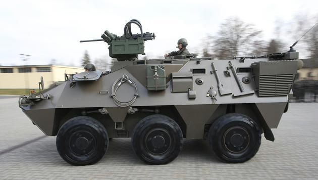 "Bundesheer rüstet seine ""Pandur""-Flotte auf (Bild: APA/BMLVS/WOLFGANG GREBIEN)"