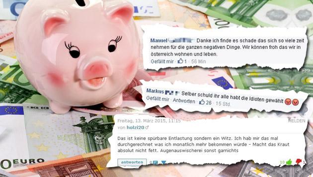 """Das sagen unsere User zur Steuerreform 2015 (Bild: thinkstockphotos.de, """"Krone"""")"""