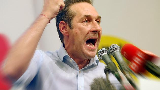"""Steuerreform für Strache """"kümmerliches Paketchen"""" (Bild: APA/RUBRA)"""