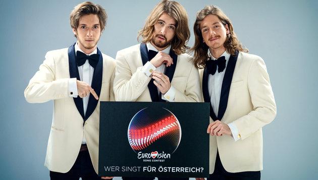 The Makemakes für Österreich beim Song Contest (Bild: ORF/Thomas Ramstorfer)