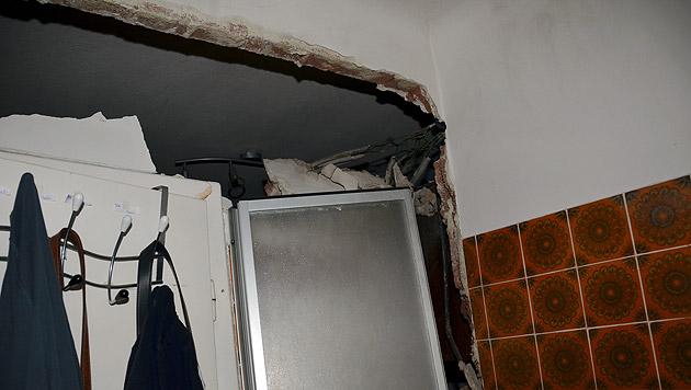 Die Schäden in der Wohnung sind enorm. (Bild: MA 68 Lichtbildstelle)