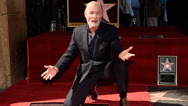 """Ed Harris mit Stern auf """"Walk of Fame"""" geehrt (Bild: Chris Pizzello/Invision/AP)"""
