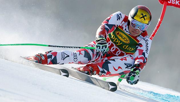 Marcel Hirscher sichert sich Riesentorlauf-Kugel (Bild: AP)