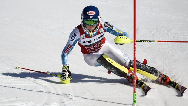 Mikaela Shiffrin deklassiert die Konkurrenz (Bild: AP)