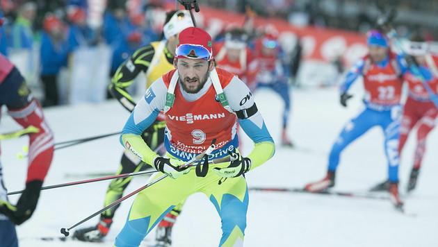 Eder abgeschlagen! Fak ist Biathlon-Weltmeister (Bild: APA/EPA/MAURI RATILAINEN)