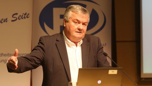 Johann Kalliauer ist Präsident der AK Oberösterreich und kann dem 6-Stunden-Tag etwas abgewinnen. (Bild: Chris Koller)
