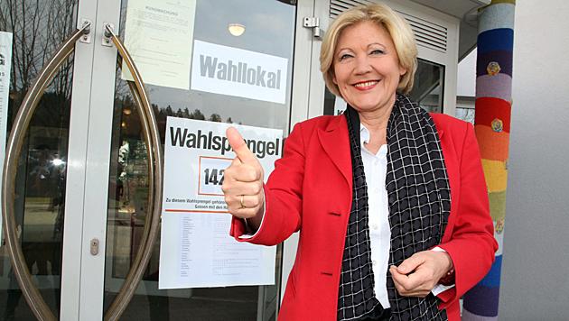 Maria-Luise Mathiaschitz (SPÖ) wird neue Klagenfurter Bürgermeisterin. (Bild: Uta Rojsek-Wiedergut)