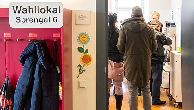 Wahltag in Vorarlberg (Bild: APA/Dietmar Stiplovsek)