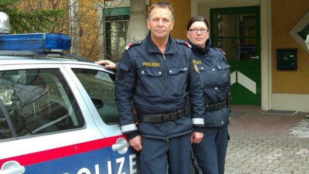 Die beiden Lebensretter (Bild: LPD Steiermark)