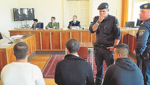 Prozess: Drei Rumänen wollten sich einen Bettelplatz erkämpfen. (Bild: Max Grill)