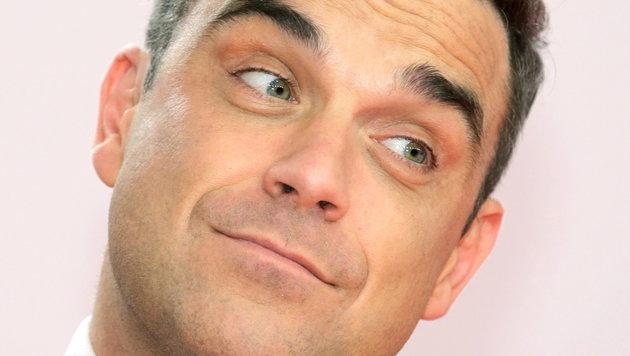 Bipolar, aber gut eingestellt: Popstar Robbie Williams (Bild: EPA)
