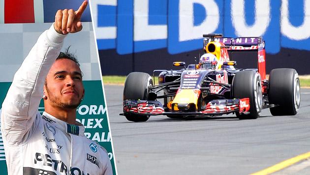 "Hamilton rät Red Bull: ""Bessere Leute einstellen"" (Bild: APA/EPA/JOE CASTRO, APA/EPA/DIEGO AZUBEL)"
