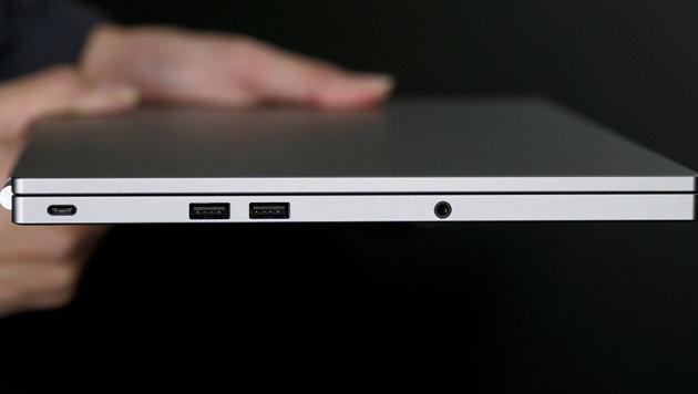 USB Typ C (ganz links) wird bei Laptops verstärkt als Ladeanschluss verwendet, birgt aber Gefahren. (Bild: AP)