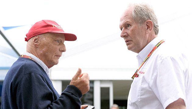 """Marko: """"Es ist nicht möglich, Mercedes einzuholen"""" (Bild: HANS KLAUS TECHT)"""