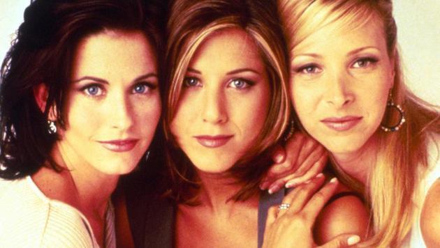 """Courteney Cox, Jennifer Aniston und Lisa Kudrow in """"Friends"""" (Bild: Viennareport.at)"""
