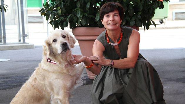 "War beim ""Hundegipfel"": Tierschutzombudsfrau Fiala-Köck (Bild: Sepp Pail)"