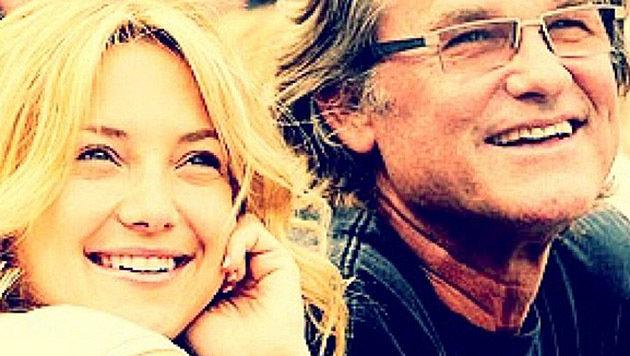 Kate Hudson postete dieses Foto zum Geburtstag von Kurt Russell. (Bild: instagram.com/katehudson)
