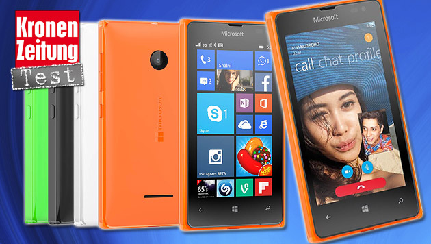 Microsofts Einsteiger-Handy Lumia 532 im Test (Bild: thinkstockphotos.de, Microsoft)