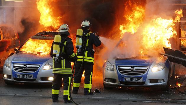 Muss Architektur brennen, Herr Prix? (Bild: AP)
