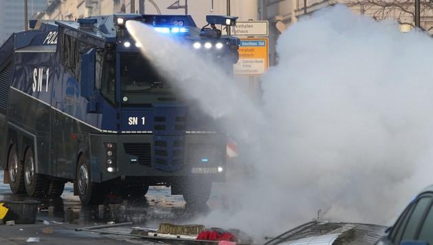 Muss Architektur brennen, Herr Prix? (Bild: AFP)