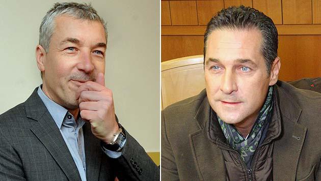 ORF-Reporter Ed Moschitz im Prozess gegen Heinz-Christian Strache (Bild: APA/HERBERT PFARRHOFER, Martin A. Jöchl)