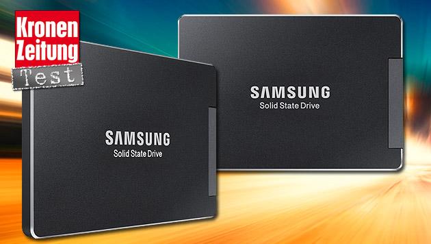 Schaltet im PC den Turbo ein: Samsung SSD 850 EVO (Bild: thinkstockphotos.de, Samsung)