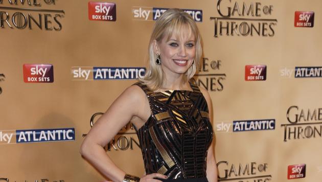 Kimberly Wyatt bei der Premiere in London (Bild: AP)