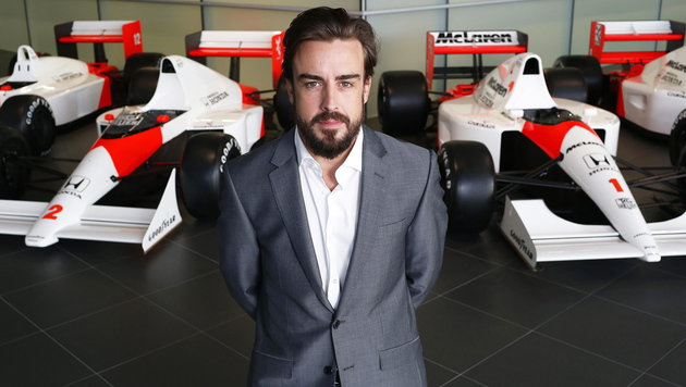 Alonso legte einen starken Tag im Simulator hin (Bild: APA/EPA/MCLAREN-HONDA)