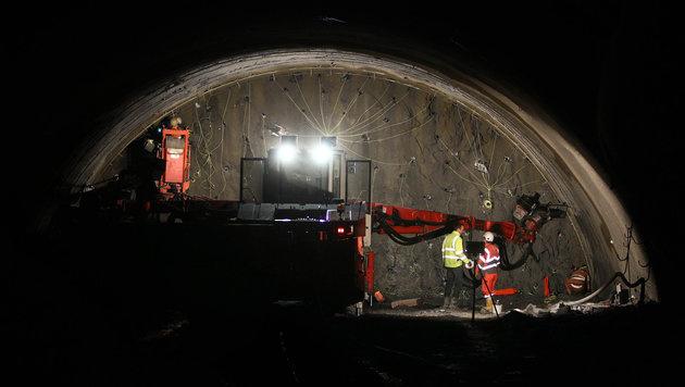 Brennerbasistunnel: Startschuss für Hauptröhre (Bild: APA/dpa/Karl-Josef Hildenbrand)