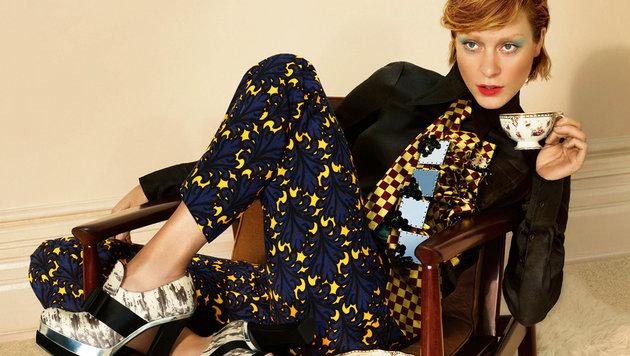 Chloë Sevigny in einer Werbung des Luxus-Labels Miu Miu (Bild: Viennareport)