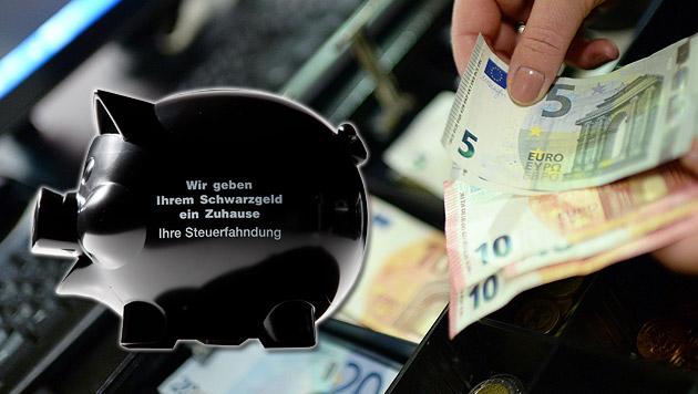 Kampf dem Schwarzgeld: Streit um Registrierkassen (Bild: APA/ROLAND SCHLAGER, APA/dpa/Rolf Vennenbernd)