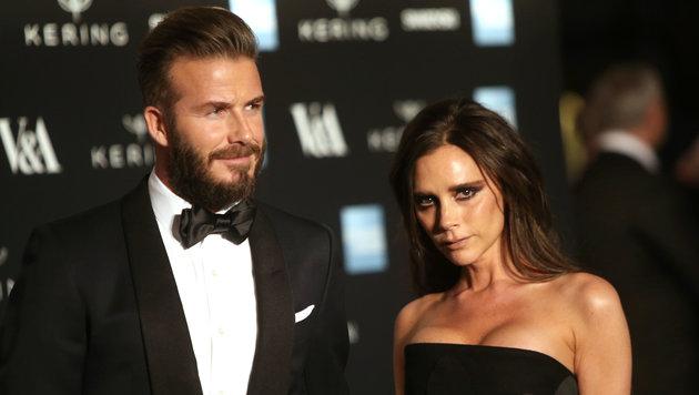 David Beckham ist von seiner Ehefrau auf Diät gesetzt worden. (Bild: AP)