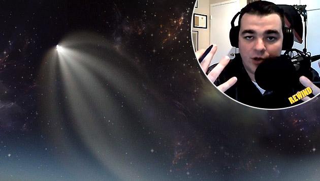 """Ufo-Jäger: """"Alien-Aktivitäten auf der Erde"""" (Bild: dpa/Werner Walter Archiv, YouTube.com/John Greenewald)"""