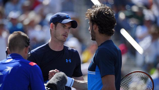 """Gigantenduell: Murray im Halbfinale gegen """"Djoker"""" (Bild: AP)"""