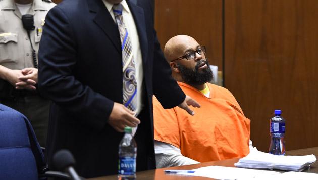 Suge Knight wird beschuldigt, den Geschäftsmann Terry Carter überfahren und getötet zu haben. (Bild: AP)