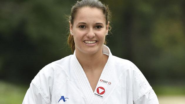 Alisa Buchinger holt historisches Karate-EM-Gold (Bild: GEPA)