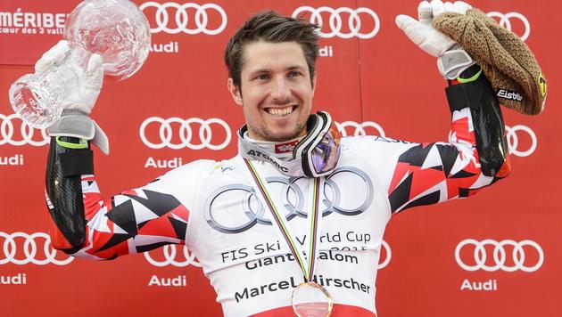 Fix: Hirscher holt zum vierten Mal Gesamt-Weltcup (Bild: APA/EPA/JEAN-CHRISTOPHE BOTT)