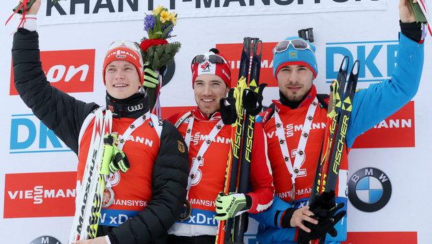 Kanadier Smith feiert ersten Sieg ++ Eberhard 19. (Bild: APA/EPA/SERGEI CHIRIKOV)